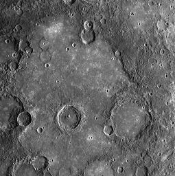 Volcanic Plains on Mercury