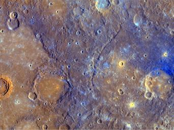 A Close-Up View of Mercury's Colors
