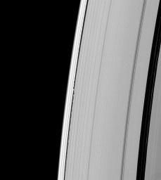 Waves from Daphnis