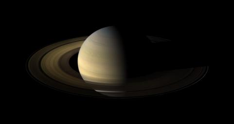 This Saturn equinox, captured here in a mosaic of light and dark, is the first witnessed up close by an emissary from Earth, none other than our NASA's faithful robotic explorer, Cassini.