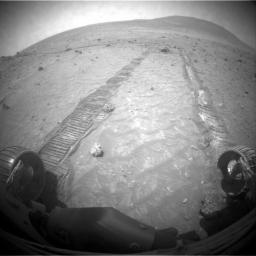 Impediment to Spirit Drive on Sol 1806