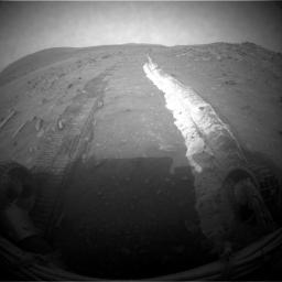 Bright Soil Churned by Spirit's Sol 1861 Drive