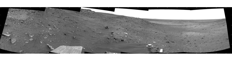 View Ahead After Spirit's Sol 1861 Drive
