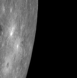 The crater in the lower left corner of this image is Berkel, recently named for Turkish painter and printmaker Sabri Berkel (1909-1993).