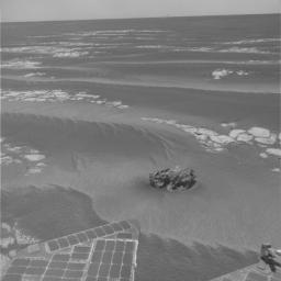 NASA's Mars Exploration Rover Opportunity has found a rock that apparently is another meteorite, less than three weeks after driving away from a larger meteorite that the rover examined for six weeks.
