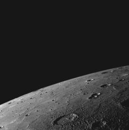 A High-resolution Look over Mercury's Northern Horizon