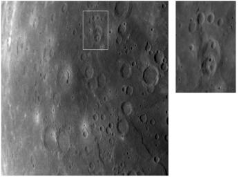Mercury's Cratered Surface and the