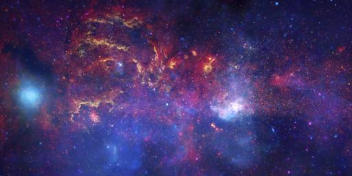 In celebration of the International Year of Astronomy 2009, NASA's Great Observatories -- Hubble Space Telescope, Spitzer Space Telescope, and Chandra X-ray Observatory -- have produced a matched trio of images of the central region of our Milky Way.