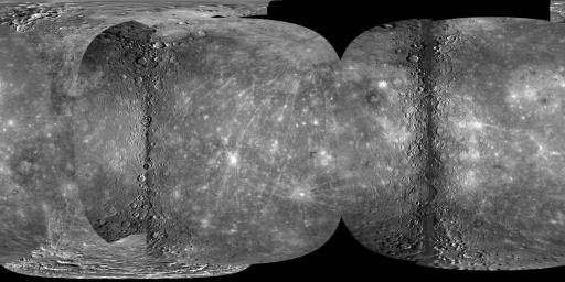 Full Global Mercury Mosaic