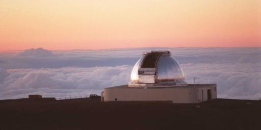 NASA's Infrared Telescope Facility atop Mauna Kea, Hawaii. The IRTF is a venerable 30-year-old, 3-meter-diameter (10-foot) telescope that ranks 40th among ground-based telescopes.