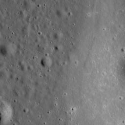 NASA's Lunar Reconnaissance Orbiter catches the edge of Mare Moscoviense.