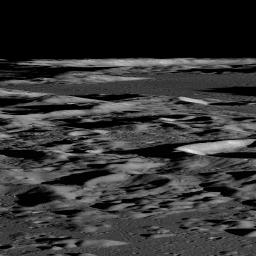 Several sequences were acquired by NASA's Lunar Reconnaissance Orbiter looking across the illuminated limb to quantify scattered light.