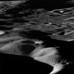 Most mountains on the Earth are formed as plates collide and the crust buckles. Not so for the Moon, where mountains are formed as a result of impacts as seen by NASA's Lunar Reconnaissance Orbiter.