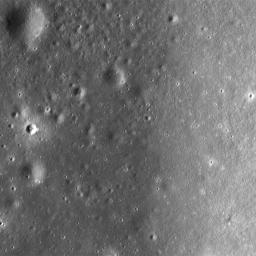Montes Pyrenaeus meets Mare Nectaris in this image taken by NASA's Lunar Reconnaissance Orbiter.