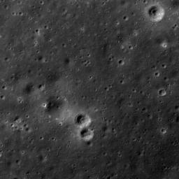 Lunar Swirls at the Mare Ingenii
