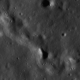 Wrinkle Ridge in Oceanus Procellarum