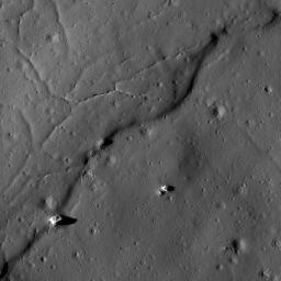 Impact Melt at Necho Crater