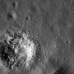 Smooth Floor in Copernicus Crater