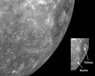 Looking Toward Mercury's Horizon