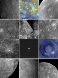 MESSENGER Image Compilation from 2010