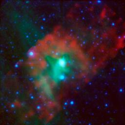 NASA's Spitzer Space Telescope was able to show that a 'standard candle' used to measure cosmological distances is shrinking, a finding that affects precise measurements of the age, size and expansion rate of our universe.