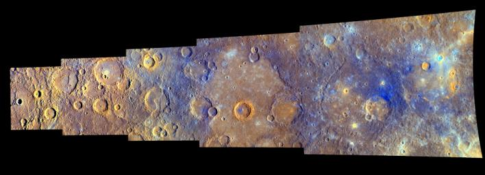 MESSENGER Explores Mercury - In Color