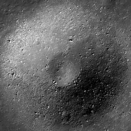 Small Crater in Oceanus Procellarum
