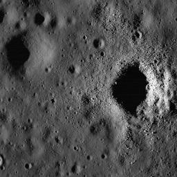 Fresh Crater on Oceanus Procellarum