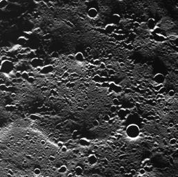 A First Look at Terrain Near Mercury's North Pole