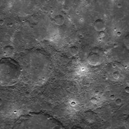 First NAC Image Obtained in Mercury Orbit