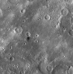 Dark Material on Mercury