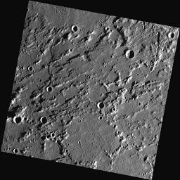 A Rugged Landscape Outside of Caloris
