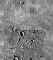 A Comparison of Flyby and Orbital Imaging