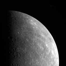 Cosmic Rays Near Mercury