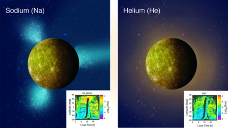 Mapping Ions around Mercury