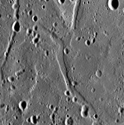 Graben in Caloris