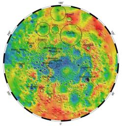 Mercury's Topography from MLA