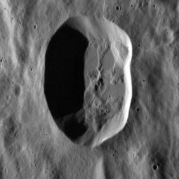 Is this Crater Circular?