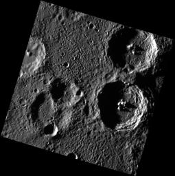 Twin Craters: Holberg & Spitteler