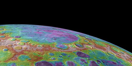Lowlands in Mercury's North