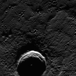 Eternal Darkness of Petronius Crater