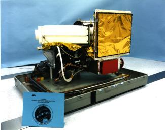 This image shows the visual and infrared mapping spectrometer instrument just before it was attached to NASA's Cassini spacecraft. Cassini launched in 1997 and has been exploring the Saturn system since 2004.