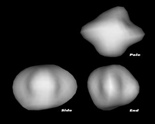 Hubble measured the size, shape and rotational period of the Rosetta mission's backup target, comet 67P/Churyumov-Gerasimenko (67P/C-G).