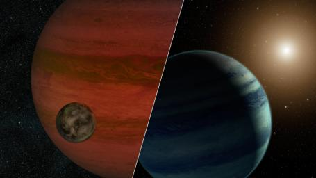 Researchers have detected the first 'exomoon' candidate -- a moon orbiting a planet that lies outside our solar system. Using a technique called 'microlensing,' they observed what could be either a moon and a planet -- or a planet and a star.
