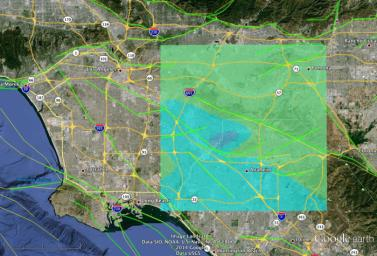 NASA Model Provides 3-D Look at L.A.-area 5.1 Quake