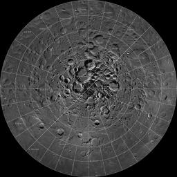 Scientists, using cameras aboard NASA's Lunar Reconnaissance Orbiter (LRO), have created the largest high resolution mosaic of our moon's north polar region.