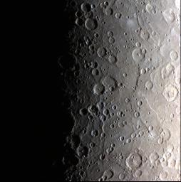Sunrise on Mercury
