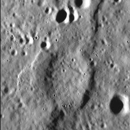 NASA's MESSENGER spacecraft shows that Mercury's surface is scarred by abundant tectonic deformation, the vast majority of which is due to the planet's history of cooling and contraction through time.