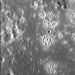 Mercury's hollows are among its most distinctive and unusual surface features. In this stunning view from NASA's MESSENGER spacecraft, we see a field of hollows in the western portion of the floor of Zeami impact basin.
