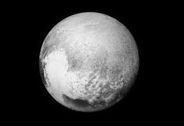 NASA's New Horizons spacecraft is returning images, such as this one of Pluto's 'Broken Heart,' to improve maps of other regions.